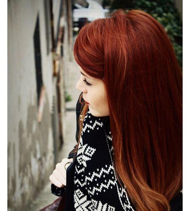 Inspiração cabelo ruivo