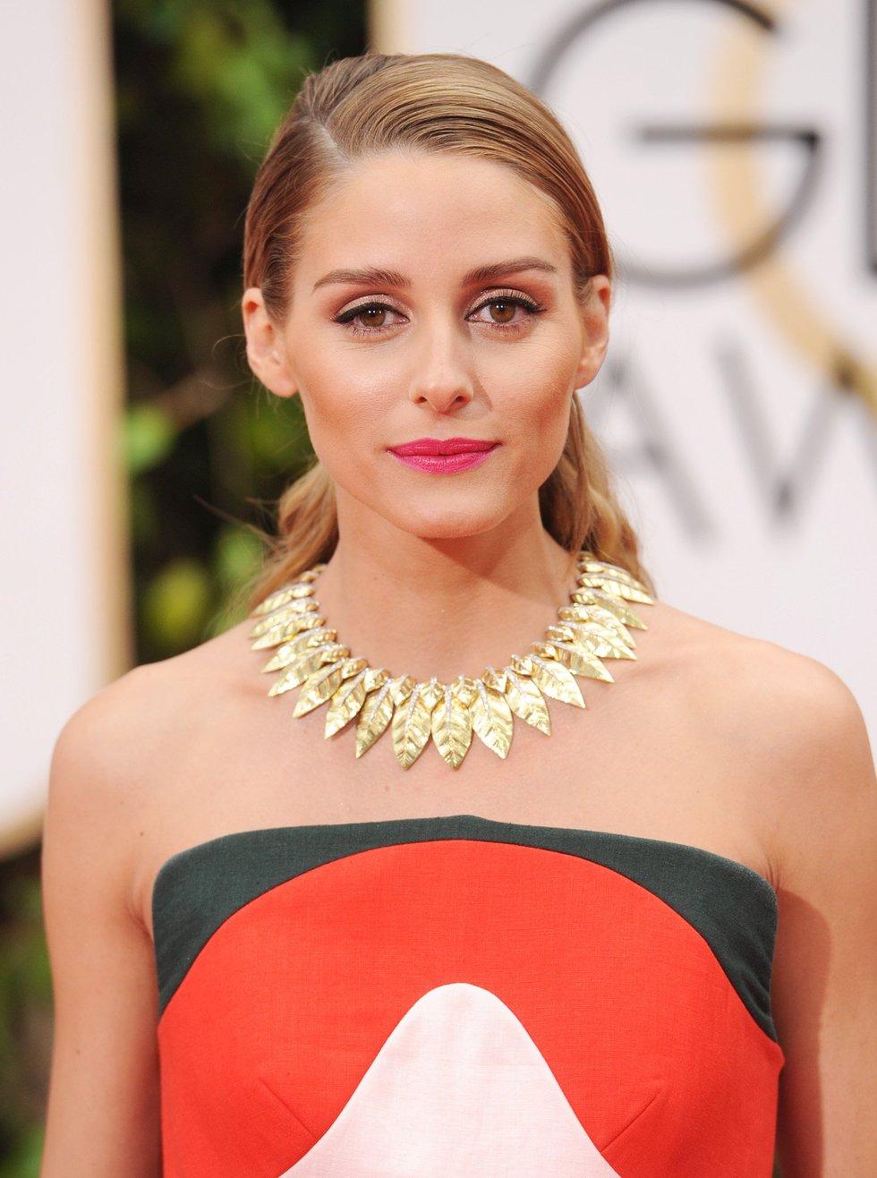 Make suave Olivia Palermo Golden Globes 2016