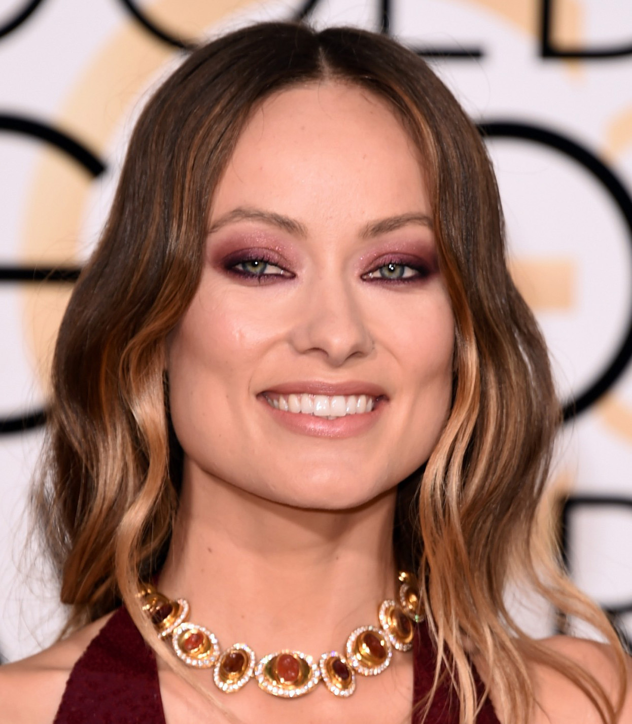 Hair with waves Olivia Wilde