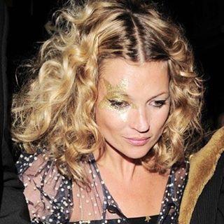 Make Kate Moss com estrela dourada