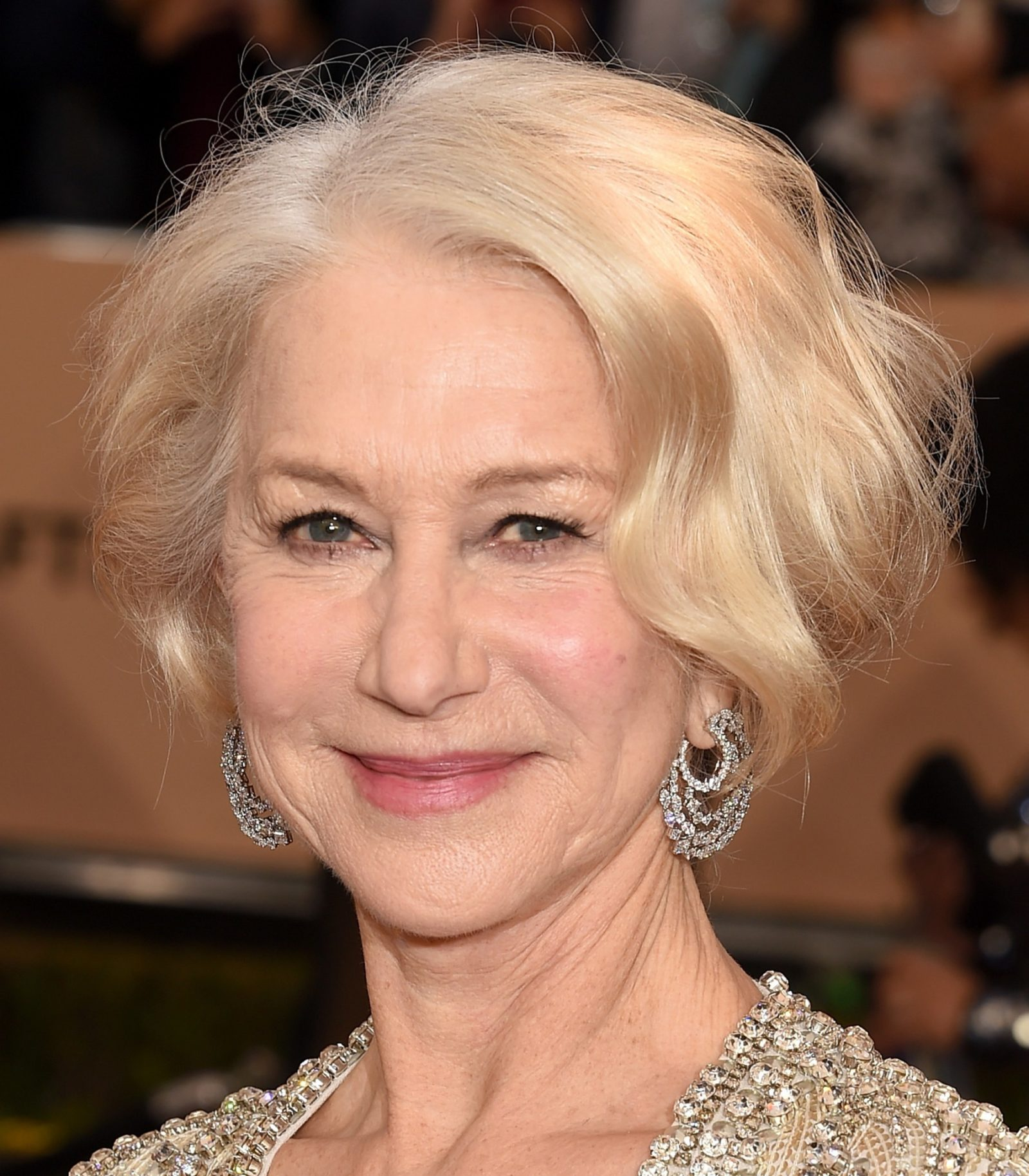 Soft makeup Helen Mirren SAG Awards