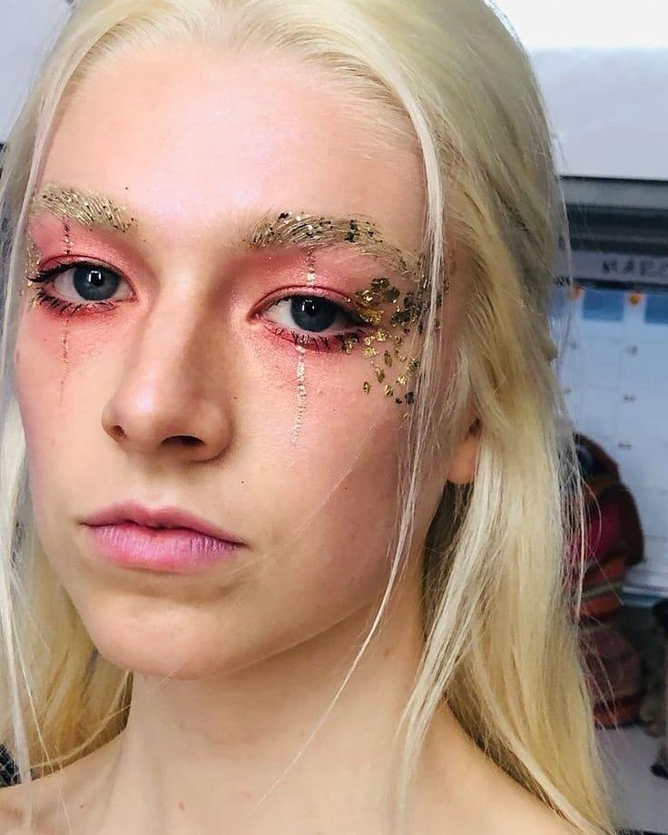 Maquiagem da série Euphoria